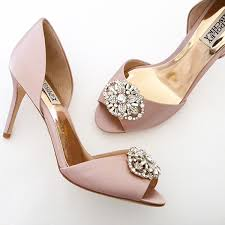 blush wedding shoes badgley mischka wedding shoes 7 5m blush wedding shoes