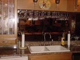 kitchen under cabinet wine glass rack photos wooden wine glass
