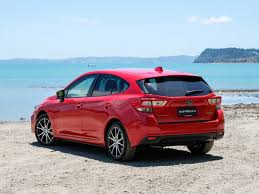2016 subaru impreza hatchback blue impreza subaru of new zealand