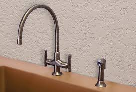 deck mount kitchen faucet cuvee extended spout kitchen faucet sinks gallery