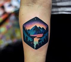 23 amazing forest tattoos for everyone who to