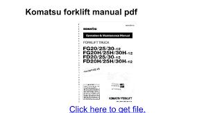 diagrams 8501100 komatsu 25 forklift light wiring diagram