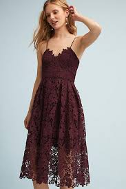 lace dress anthropologie