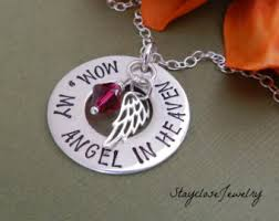 Personalized Memorial Necklace Memory Necklace Etsy