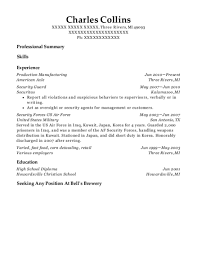exle for a resume american axle production manufacturing resume sle three