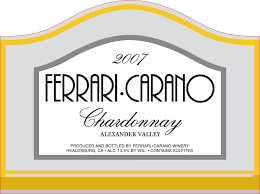 carano reserve cabernet 2007 carano reserve chardonnay valley by