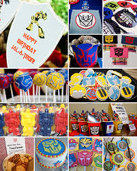 transformer party favors transformers valentines search party ideas