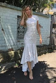 wedding dress hire brisbane rent lover the label white magick worship dress rrp 1795 00