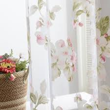 Panel Curtain Room Divider by Newly Flower Sheer Curtain Panel Window Door Curtain Room Divider