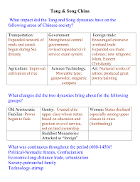 chapter 12 guided reading tang and song china