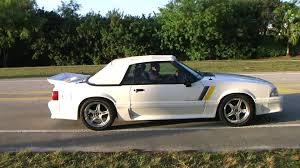 1988 gt mustang 1988 mustang gt convertible supercharged cleanest fox