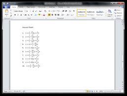 guide math worksheet generator by microsoft education labs