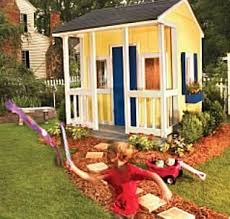 Backyard Little House 31 Free Diy Playhouse Plans To Build For Your Kids U0027 Secret Hideaway