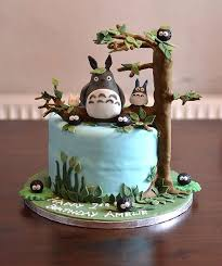 photo cakes 10 totoro cakes that are to eat bored panda