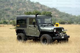 jeep car mahindra mahindra thar premium hard top 1