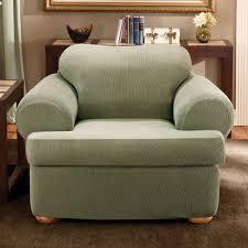 Striped Slipcovers For Sofas Tips Soft T Cushion Chair Slipcovers For Elegant Interior
