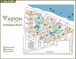 papakea resort map layout aston at papakea resort