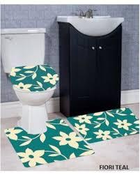 Bathroom Contour Rug Deal Alert Wpm 3 Bath Rug Set Fiori Pattern Bathroom Rug