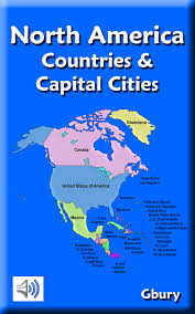 Map Of United States And Capitals by Amazon Com North America Countries And Capital Cities Appstore