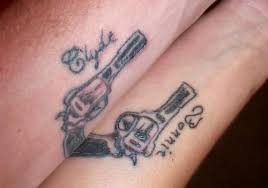 Bf Gf Tattoo Ideas Cute Matching Couple Tattoos Ideas Google Search Couples