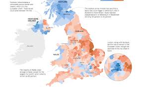 Manchester England Map by Brexit In Interactive Maps And Charts