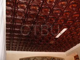Decorative Ceiling Tile by Plastic Glue Up Drop In Decorative Ceiling Tiles