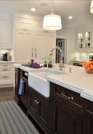 farmhouse kitchen kitchen island with farmhouse sink a rohl