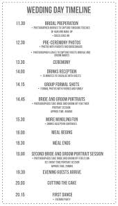 wedding itinerary template for guests wedding itinerary template formal weekend for guests their sounds