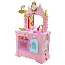 Cafe Doors For Kitchen Amazon Com Disney Princess Royal 2 Sided Kitchen U0026 Caf Toys U0026 Games