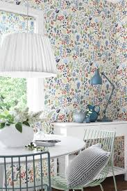 floral removable wallpaper buy boråstapeter 2743 herbarium wallpaper wallpapers by