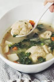 vegetable dumpling soup for food