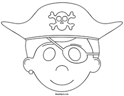 printable pirate mask