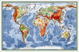 World Map Large by World Map Map Of The World World Map Poster Large World