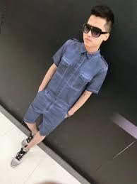 mens one jumpsuit s 3xl 2016 arrive s clothing slim one denim coat