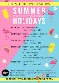 the studio workshops u2014 holidays
