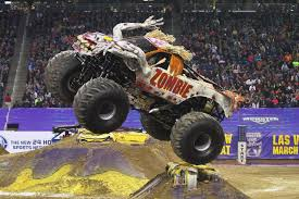 monster truck show cleveland zombie truck driver shares life advice driving tips and a need to