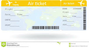 airline ticket voucher template