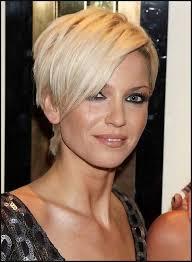frisuren hairstyles on pinterest pixie cuts short sarah harding short blonde pixie cut with long bangs kurze haare