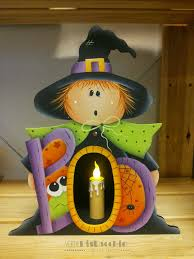 halloween witch crafts pronte per halloween country painting i miei lavori
