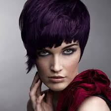 black hairstyles purple 49 funky color idea for super short hairstyles cool trendy