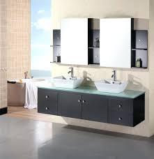 modern sinks and vanities floating sink vanity inch modern double vessel sink bathroom vanity