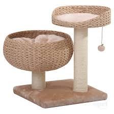 Cat Lounge Scratcher Petpals Cat Scratcher Cozy With Perch Lounge Plush Fleece U0026 Sisal