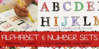 huge alphabet letters printable printable letters numbers