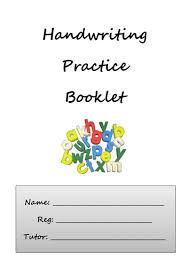 handwriting practice booklet by carwyn davies teaching resources