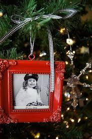 idea for photo tree ornament the black white