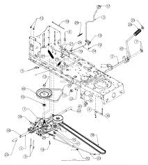 troy bilt 13an77bs011 pony 2017 parts diagrams