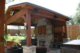 Outdoor Fieldstone Fireplace - patio chimney large outdoor patio with fireplace and wrought iron
