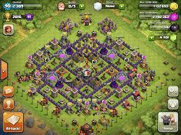 town hall 10 farming bases barbarian gods