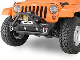 mini jeep wrangler rugged ridge 11542 13 modular mini stinger in steel for 07 17 jeep