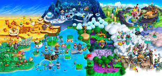 Super Mario Bros 3 Maps New Super Mario Bros U Super Mario Bros Mario Bros And Mario